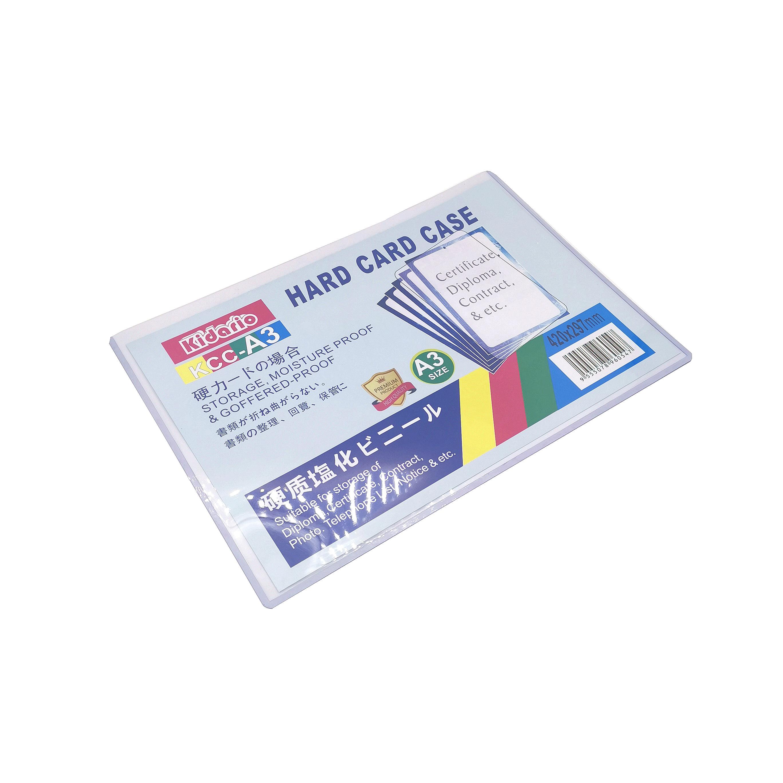 brand new f0070 88ce5 Plastic Hard Card Case A3